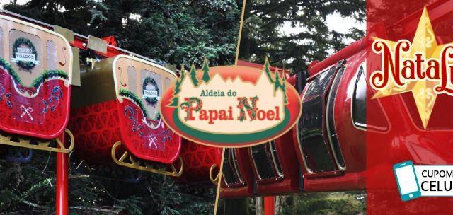 A Magia Do Natal o Ano Inteiro na ALDEIA DO PAPAI NOEL!