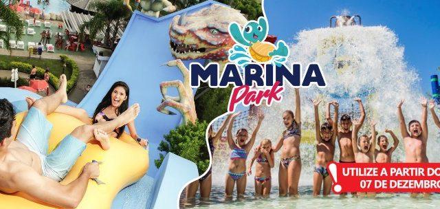 Diversão pro Verão em Capão! Passaporte Marina Park por SÓ R$75!