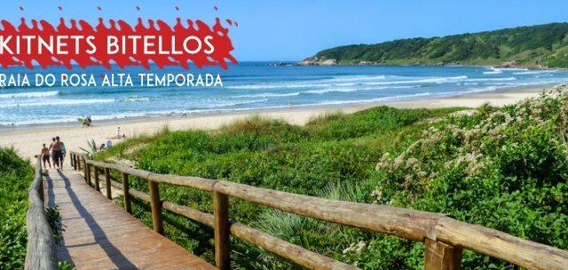 PRAIA DO ROSA: Diárias na Praia do Rosa em Kitnets Mobiliados para 2 Pessoas a partir de SÓ R$76,85/diária!
