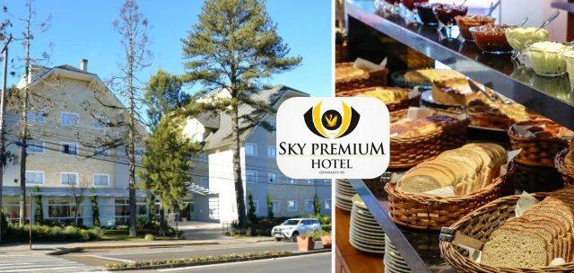 SKY PREMIUM HOTEL: Diária para DOIS em Ap. Super Luxo c/ Café por SÓ R$139,90!!