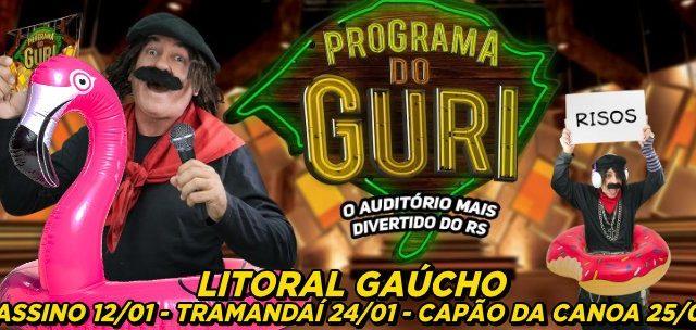 """Apresenta o """"Programa do Guri"""" no LITORAL GAÚCHO! Ingressos de R$50 por SÓ R$19,90!!"""