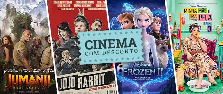 Cinema com desconto em Porto Alegre