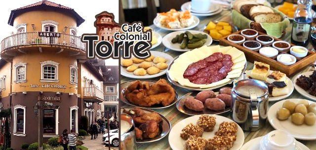 BAIXOU! Café Colonial + Garrafa de Vinho R$ 49,90.