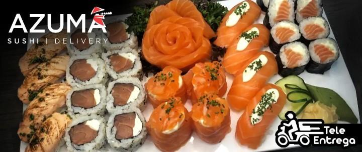 Sushi na Tele-Entrega do Azuma Sushi