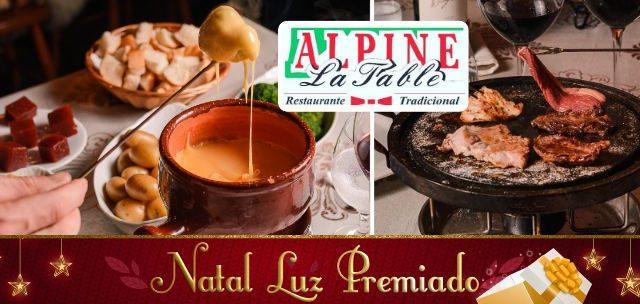 Natal Luz Premiado: Fondue com Picanha R$ 49,90.