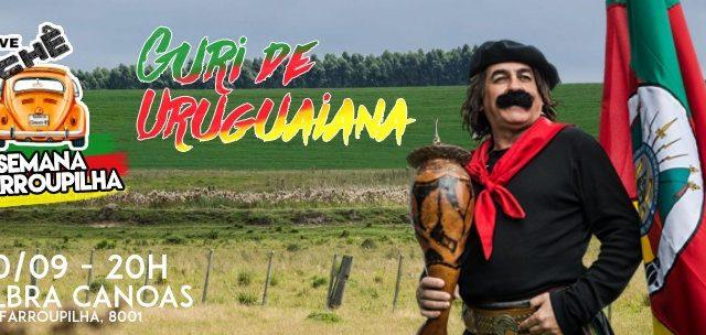 20/SET: Guri de Uruguaiana no Drive Tchê, em Canoas.