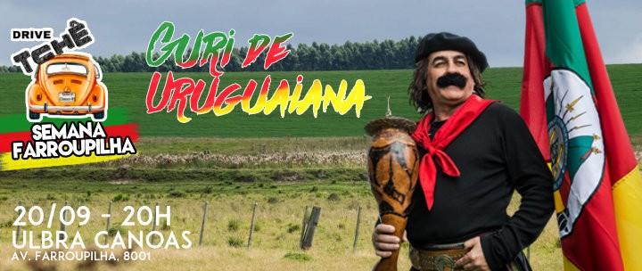 Guri de Uruguaiana no Drive Tchê em Canoas