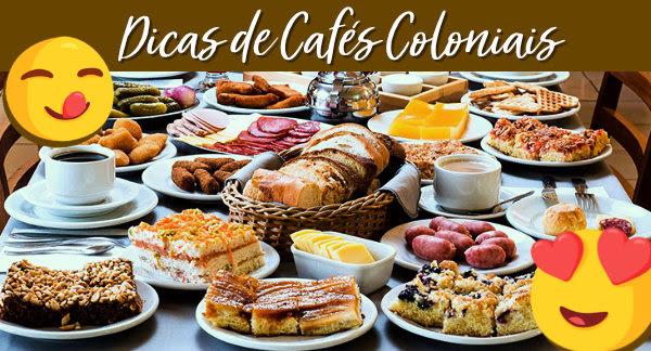 Em Gramado, Rota Romântica, Novo Hamburgo ou até mesmo em casa. Café Colonial é uma delícia!😋