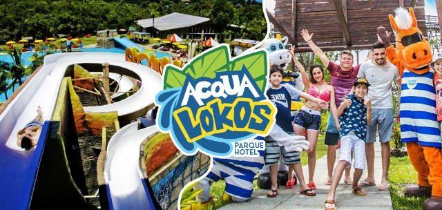 É Acqua Lokos: Passaporte com 34% OFF!