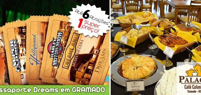 Combo Passaporte Dreams com Café Colonial!