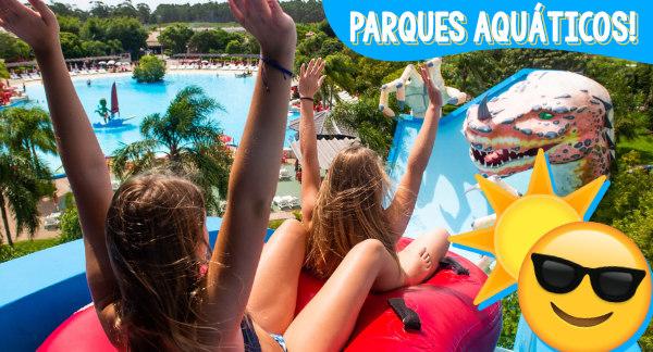 Venha se Refrescar nos Parques Aquáticos!