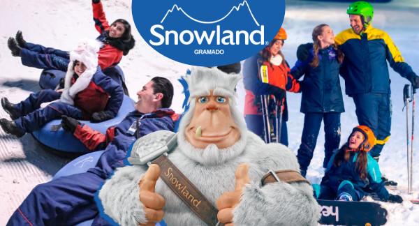 Última Semana de Natal Luz com promo na SNOWLAND!