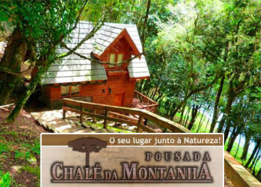 Gramado | Pousada Chalé da Montanha | Diária para Casal com Café da Manhã!