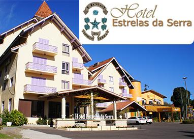 Gramado | Hotel Estrelas da Serra | Diárias para 2 pessoas, inclusive Fins de Semana!