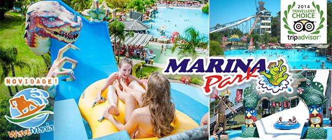 Capão da Canoa | Marina Park | Passaporte p/ Melhor Parque Aquático do Sul do País!
