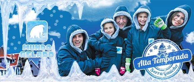 Mundo Gelado em Canela: Divirta-se na Caverna a -10ºC do Primeiro Parque de Gelo da América Latina por SÓ R$15!