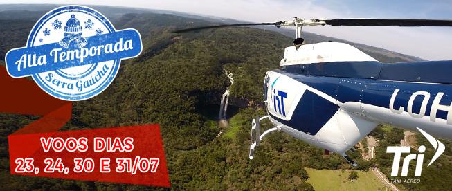 ALTA TEMPORADA NA SERRA: Passeio Inesquecível em Canela com Voo Panorâmico de Helicóptero por SÓ R$99/pessoa!