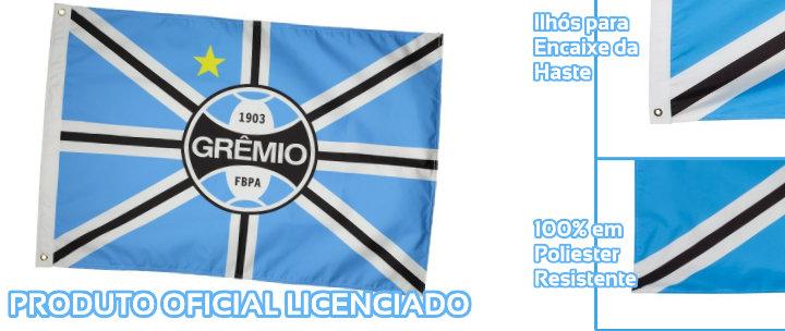 ... Para Torcer com Todo o seu Amor Tricolor! Bandeira Oficial do Grêmio +  FRETE GRÁTIS e9965dc164577