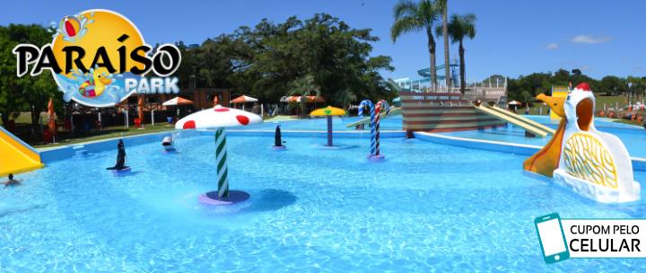 fe592329c VEM VERÃO: Seu Parque Aquático em Porto Alegre! Ingressos para o PARAÍSO  PARK de ...
