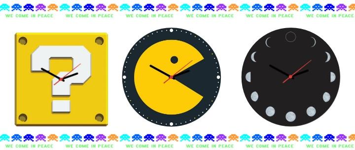 7413f204949 ... UNIVERSO GEEK INVADINDO  Relógios de Parede Personalizados na Sonho Meu Presentes  Criativos por APENAS R